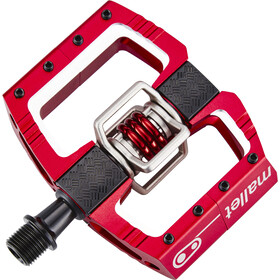 Crankbrothers Mallet DH Pedalen, rood